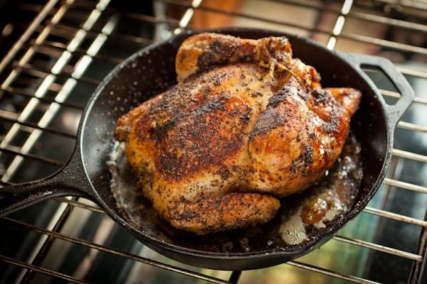 пиле на фурна за белтъчен ден