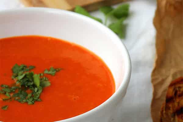 доматена супа за белтъчен ден