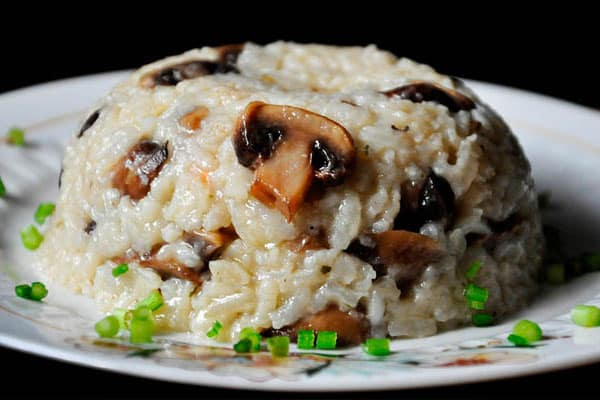 ориз с гъби за ден на варивата