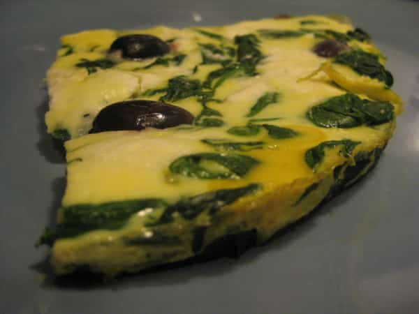 спанак със сирене при белтъчен ден